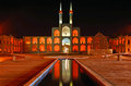 Amir chakhmaq complex in yazd iran Stock Photo