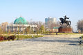 Amir Temur square Royalty Free Stock Photography