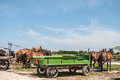 Amish buggies Royalty Free Stock Photo