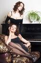 Amizade das mulheres Imagem de Stock Royalty Free