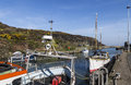 Amlwch Port on Anglesey, Wales, UK in early Spring. Royalty Free Stock Photo