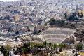 Amman amphitheater - Jordan Royalty Free Stock Images