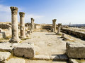 Amman Citadel Stock Photography