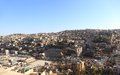 Amman jordan the skyline including the ancient and modern Royalty Free Stock Image