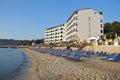 Amon Zeus beach Royalty Free Stock Photo
