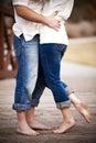 Amor do verão Imagens de Stock