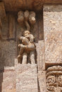 Amorous couple, Sun Temple Konark Royalty Free Stock Image