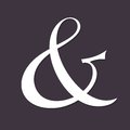Ampersand for wedding invitation decoration vector illustration Royalty Free Stock Photos