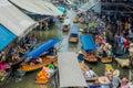 Amphawa bangkok floating market thailand