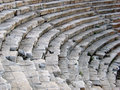 Amphitheater detail Stock Image