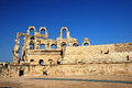 Amphitheater of El Jem Royalty Free Stock Photography