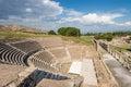 The amphitheater of pergamos southwest turkey Royalty Free Stock Images