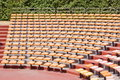 Amphitheater seats Royalty Free Stock Photography
