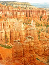 Amphitheater, view from Sunset point, Bryce Canyon National Park Royalty Free Stock Photography