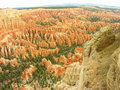Amphitheater, view from Sunset point, Bryce Canyon National Park Stock Photography