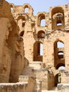Amphitheatre do EL Djem Imagem de Stock Royalty Free