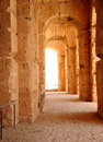 Amphitheatre of El Jem Royalty Free Stock Photography