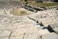 Amphitheatre in milet turkey miletus was an ancient greek city on the western coast of anatolia its ruins are located near the Stock Image