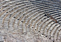 Amphitheatre in Pamukkale, Turkey Royalty Free Stock Photos