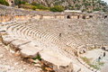 Amphitheatre in Turkey Stock Photography