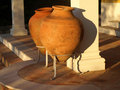 Amphora somewhere in the algarve in southern portugal Royalty Free Stock Images