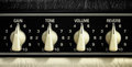 Amplifier Panel Royalty Free Stock Image