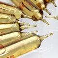 Ampoule (medicine) Royalty Free Stock Photos