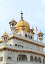 Amristar golden temple in amritsar india Stock Images