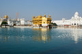 Amritsar, temple d'or, Inde Photos libres de droits