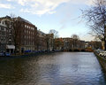 Amsterdam canals Royalty Free Stock Photo