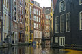 Amsterdam canals netherlands in the course of the th century the famous crescent shape of the city centre was designed and Royalty Free Stock Photos