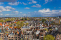Amsterdam cityscape - Netherlands Royalty Free Stock Photo