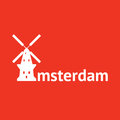 Amsterdam de gooyer windmill in Royalty Free Stock Photo