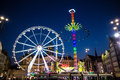 Amsterdam fun fair Royalty Free Stock Photo