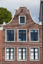 Amsterdam house bell gable of a historic in holland netherlands Stock Photography