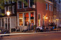 Amsterdam night life Stock Images