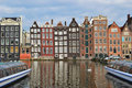 Amsterdam Old Quarter Royalty Free Stock Images