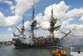 Amsterdam seglar Arkivbilder
