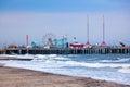 Amuesment Park at Steel Pier Atlantic City, NJ Royalty Free Stock Photo