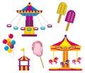 Amusement Park Royalty Free Stock Photo