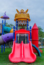 Amusement park phitsanulok thailand asia Royalty Free Stock Photo