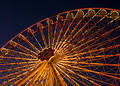 Amusement Park Prater in Vienna Royalty Free Stock Photo