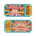 Amusement Park Ticket. Family ...