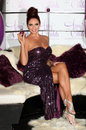 Amy childs launches her perfume amy childs at aura london picture by alexandra glen featureflash Stock Images