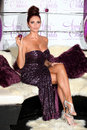 Amy childs launches her perfume at aura london picture by alexandra glen featureflash Stock Photos