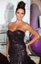 Amy childs launches her perfume at aura london picture by alexandra glen featureflash Royalty Free Stock Photography