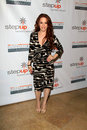 Amy Davidson arriving at StepUp Women's Network Inspiration Awards Royalty Free Stock Photos