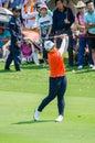 Amy Yang of South Korea in Honda LPGA Thailand 2016 Royalty Free Stock Photo