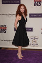 Amy yasbeck actress at the th annual race to erase ms gala themed rock royalty to erase ms at the century plaza hotel april Royalty Free Stock Images