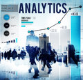 Analitics data analysis strategy statistic concept Stock Photos